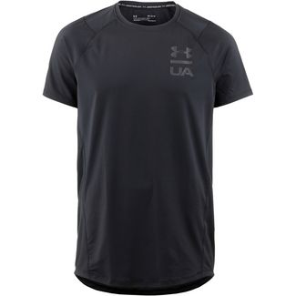 Under Armour MK1 Funktionsshirt Herren black-black