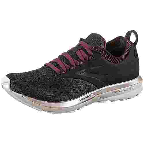 Brooks Ricochet LE Laufschuhe Damen black-grey-pink