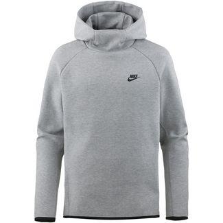 Nike NSW Tech Fleece Hoodie Herren dark grey heather-black