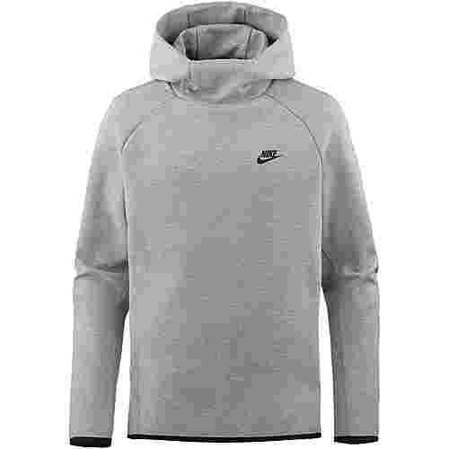 Nike NSW Tech Fleece Hoodie Herren dark grey heather-black