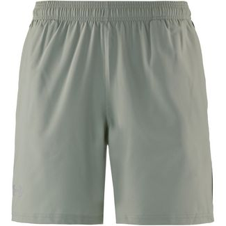 Under Armour HeatGear Launch Laufshorts Herren grovegreen-black-reflective