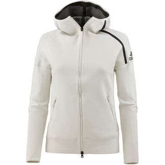 adidas ZNE Sweatjacke Damen raw white