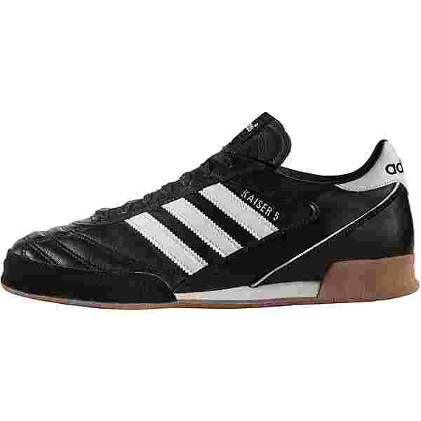 adidas Kaiser 5 IN Fußballschuhe schwarz/weiß