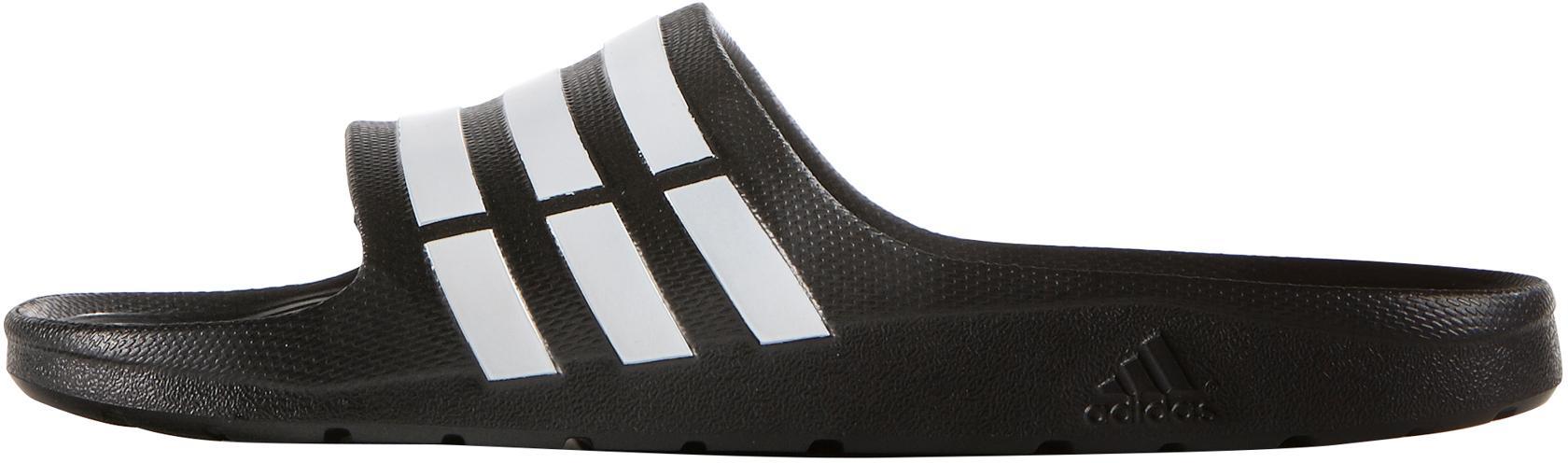 huge selection of e8b00 cfd03 Adidas Duramo von Slide Badelatschen core schwarz im Online Shop von Duramo  SportScheck kaufen Gute Qualität ...
