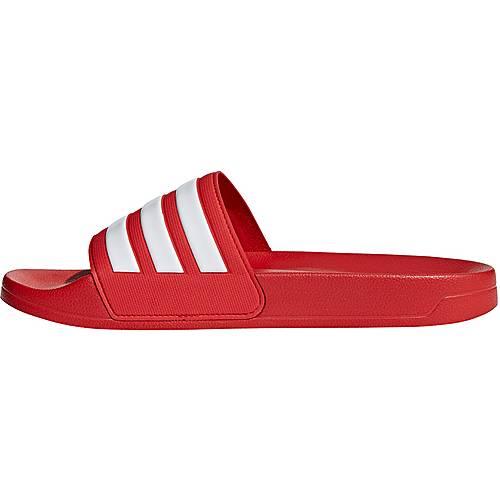 Adidas Adilette Badelatschen Damen Sandale scarlet
