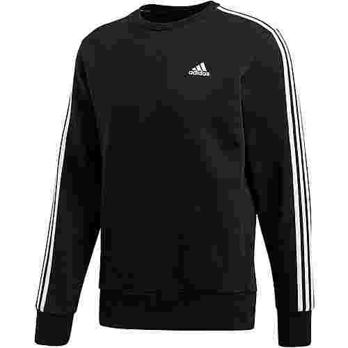 adidas Essential 3S Sweatshirt Herren black-white