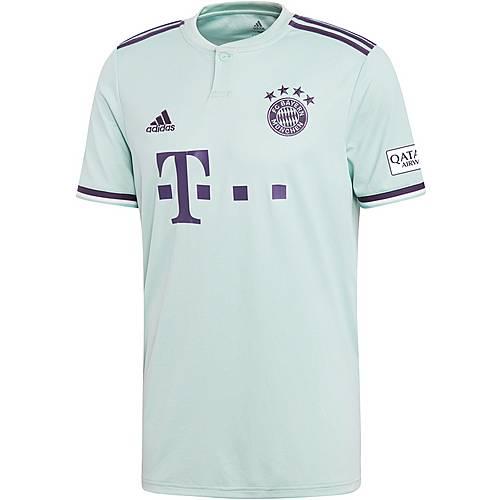 adidas FC Bayern 1819 Auswärts Fußballtrikot Herren ash green im Online Shop von SportScheck kaufen