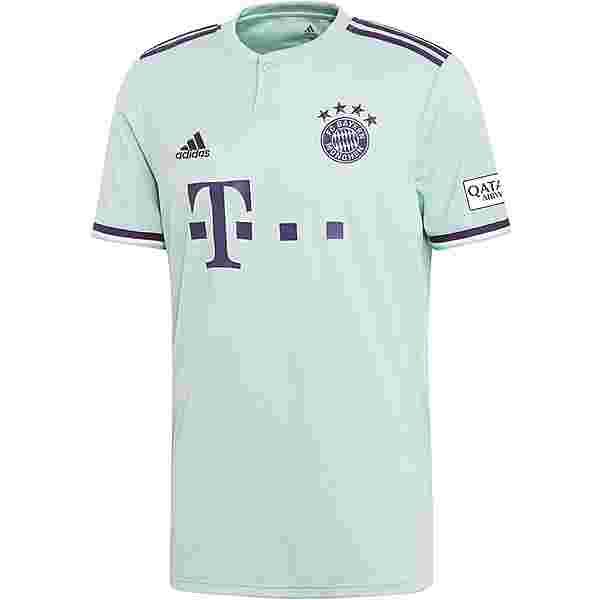 adidas FC Bayern 18/19 Auswärts Trikot Herren ash green