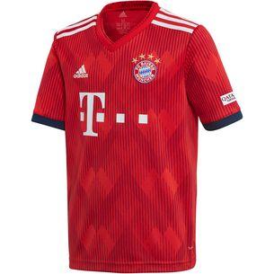 01f2bb68793a adidas FC Bayern 18 19 Heim Fußballtrikot Kinder FCB ...