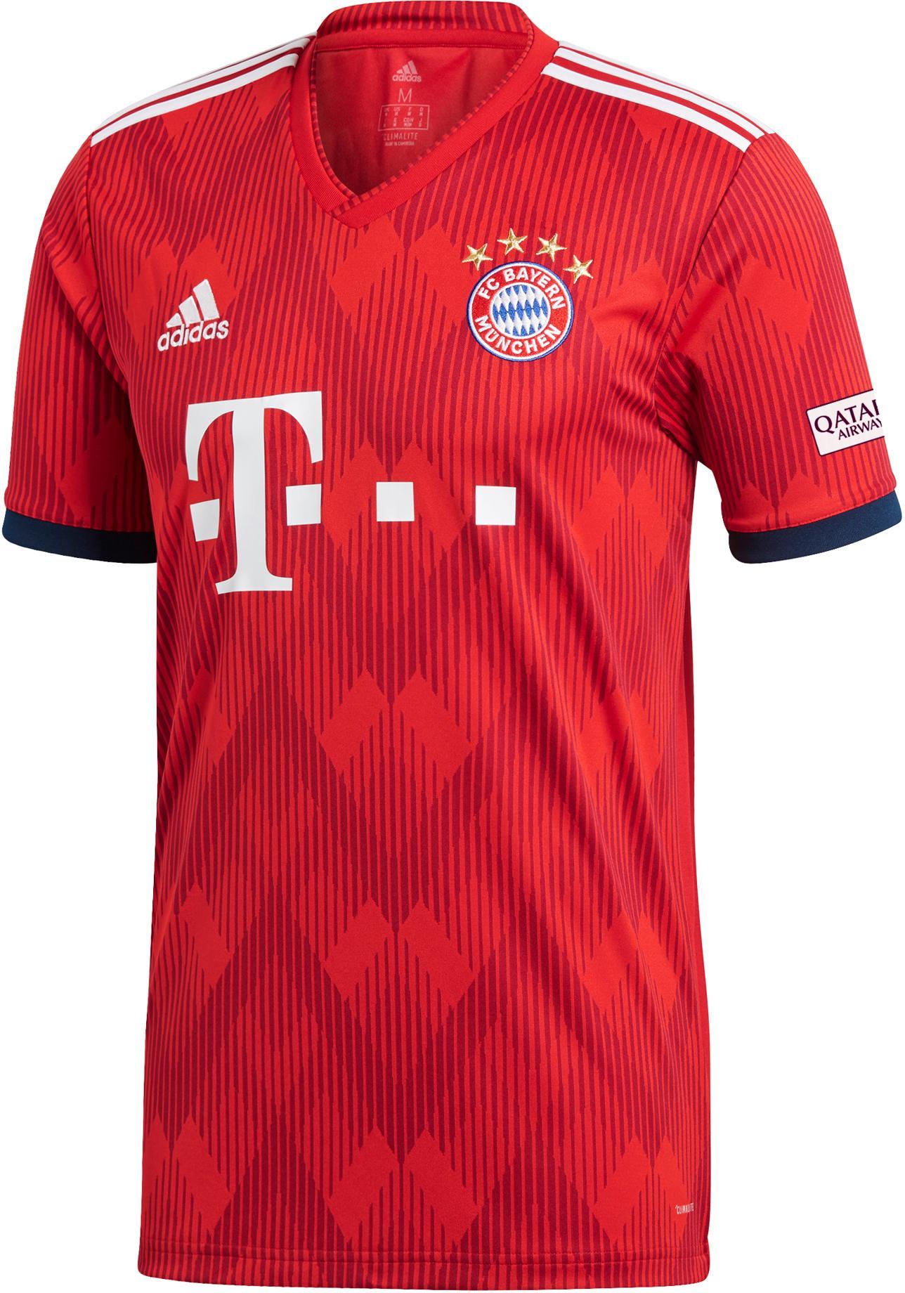adidas FC Bayern 1819 Heim Fußballtrikot Herren FCB TRUE RED im Online Shop von SportScheck kaufen