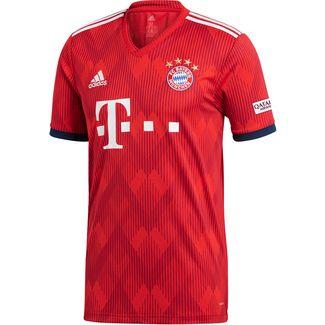 size 40 cb93d 8795b adidas FC Bayern 18 19 Heim Fußballtrikot Herren FCB TRUE RED