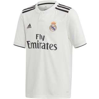 adidas Real Madrid 18/19 Heim Trikot Kinder core white