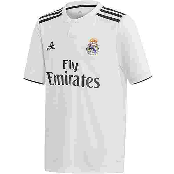 adidas Real Madrid 18/19 Heim Trikot Kinder core white