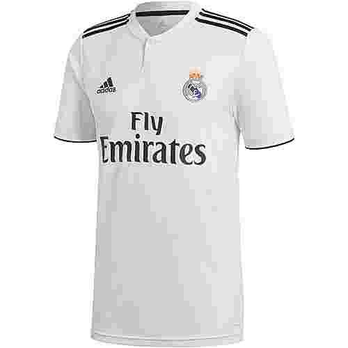 adidas Real Madrid 18/19 Heim Fußballtrikot Herren core white