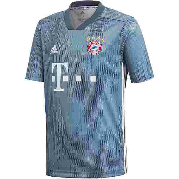 adidas FC Bayern 18/19 CL Trikot Kinder raw steel