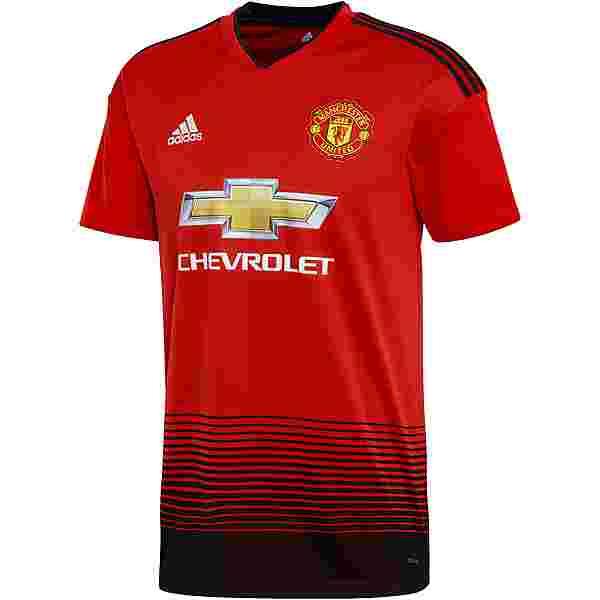 adidas Manchester United 18/19 Heim Trikot Herren real red