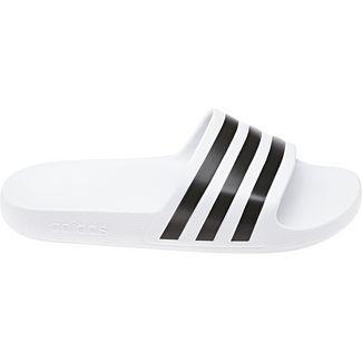 adidas Adilette Aqua Badelatschen white black
