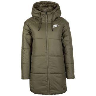 Nike Sportswear Synthetic-Fill Outdoorjacke Damen oliv / weiß
