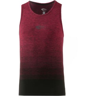 SMILODOX Stringer Cross Tanktop Herren bordeaux