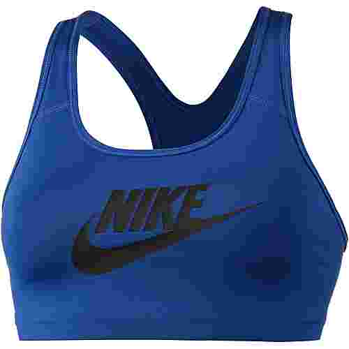 Nike Pro Classic Swoosh Futura Sport-BH Damen indigo force-black