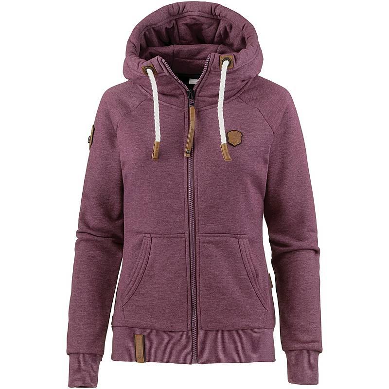Naketano Brazzo Sweatjacke Damen bordeaux melange im Online Shop von  SportScheck kaufen aad334985a