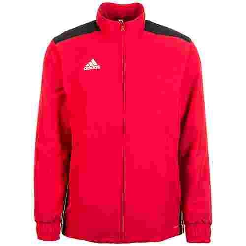 adidas Regista 18 Woven Trainingsjacke Herren rot / schwarz