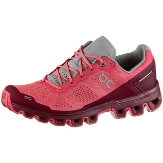 ON CLOUDVENTURE Trailrunning Schuhe Damen coral-mulberry