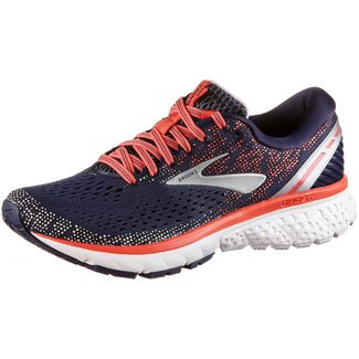 Brooks Ghost11 Laufschuhe Damen navy-coral-grey