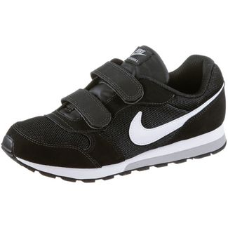 Nike MD Runner Sneaker Kinder black-white-wolf-grey
