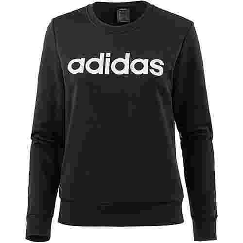 adidas Essential Linear Sweatshirt Damen black