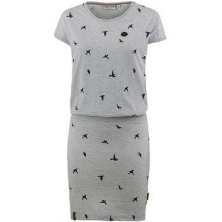 Naketano Im Besitz der Macht Jerseykleid Damen grey melange