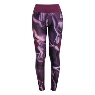 Active by Lascana Leggings Damen allover Federn
