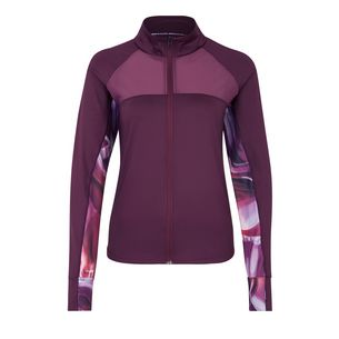 Active by Lascana Trainingsjacke Damen aubergine