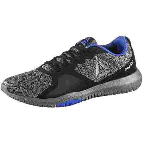 Reebok Flexagon force Fitnessschuhe Herren black-alloy-cobalt-pewter