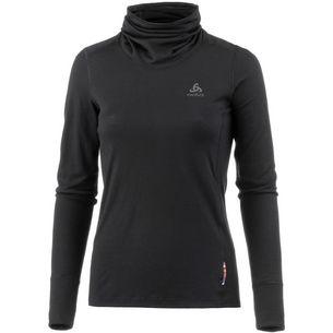 Odlo Merino warm Unterhemd Damen black