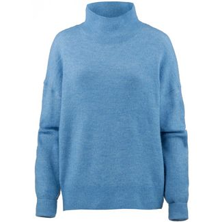 TOM TAILOR Strickpullover Damen viola blue mélange