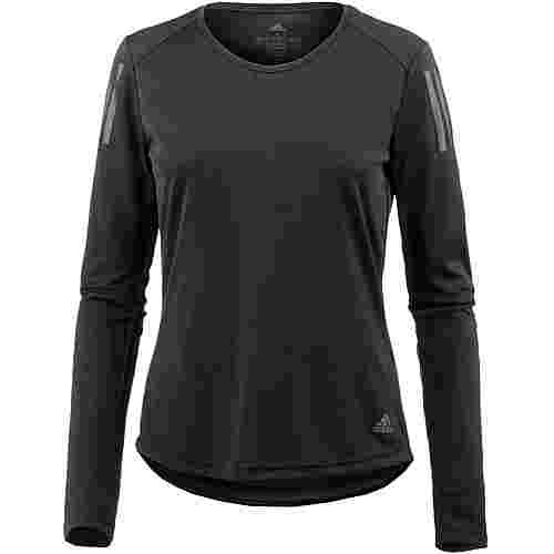 adidas Own The Run Laufshirt Damen black