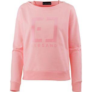ELBSAND Finnia Sweatshirt Damen peach bloom