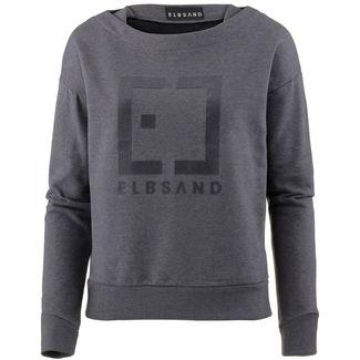 ELBSAND Finnia Sweatshirt Damen steel grey