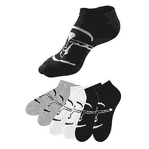 Chiemsee Sneakersocken Damen schwarz + weiß + grau