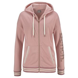 Bench Sweatjacke Damen apricot