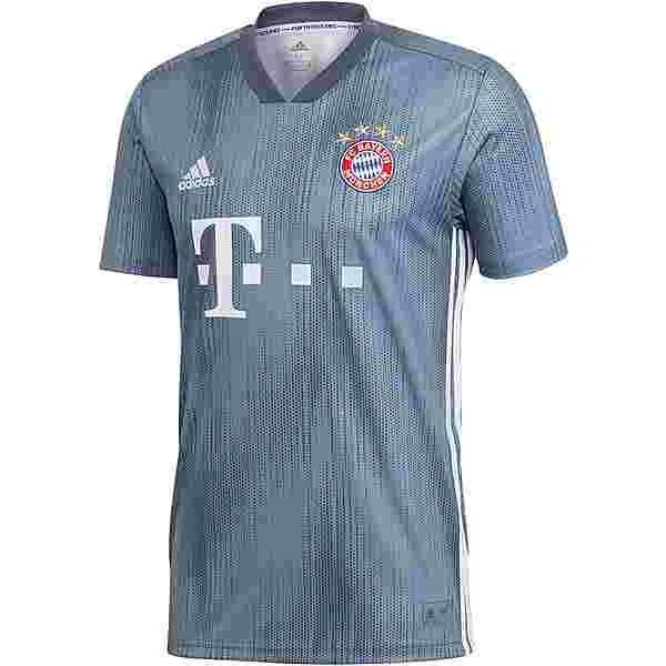 adidas FC Bayern 18/19 CL Trikot Herren raw steel