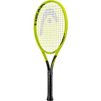 HEAD Graphene 360 Extreme 360 Junior Tennisschläger Kinder gelb-schwarz