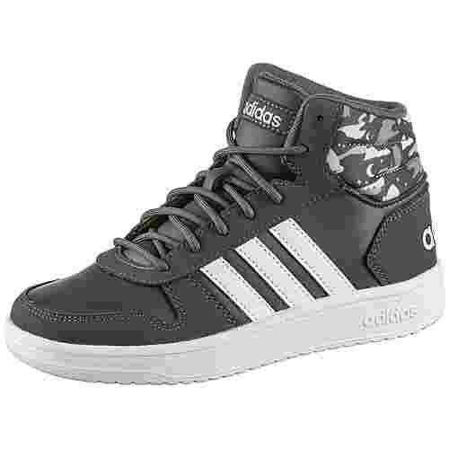 adidas Hoops Mid Sneaker Kinder grey six