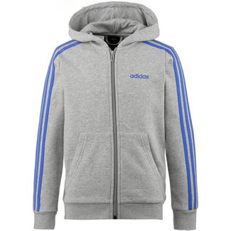 adidas Sweatjacke Kinder medium grey heather