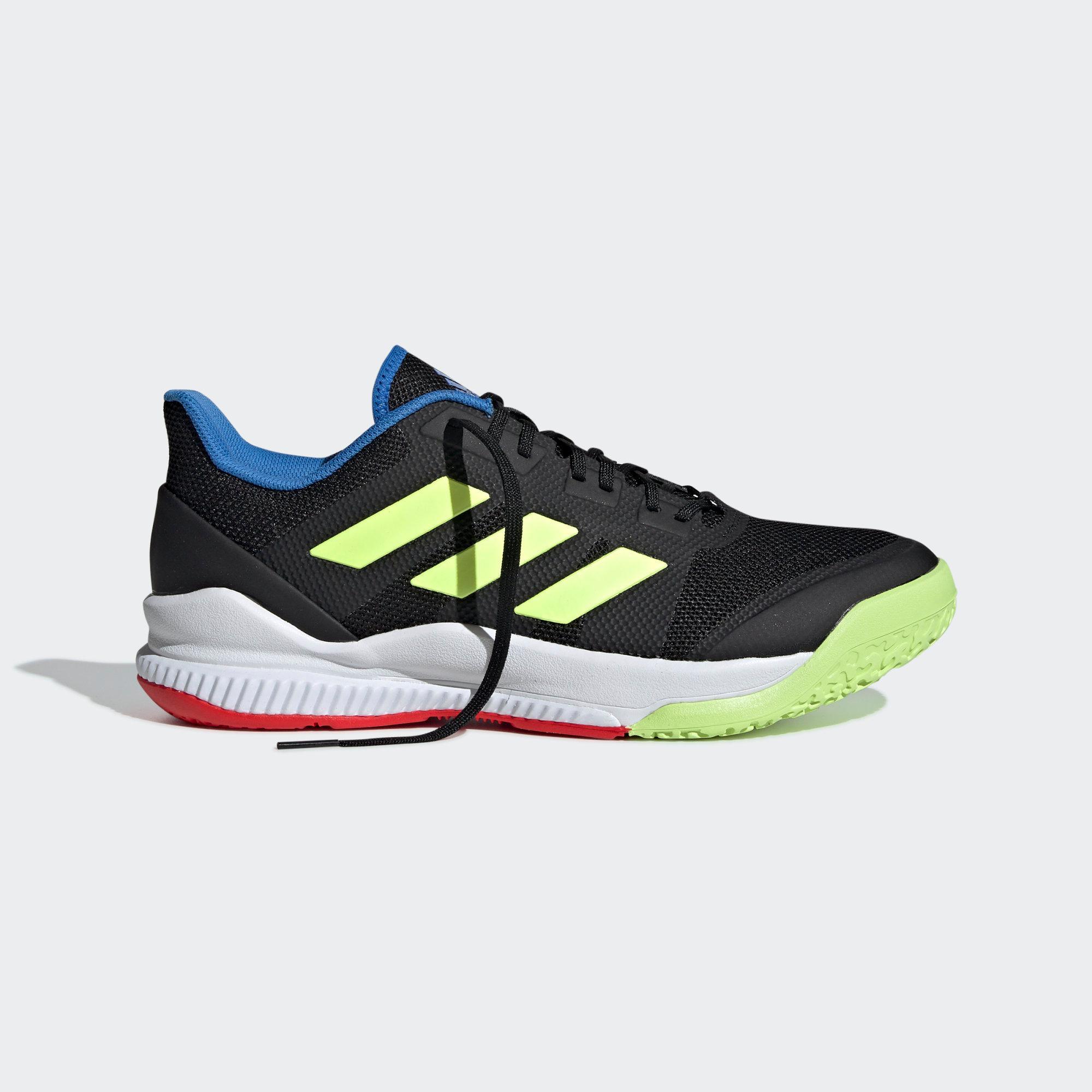 Adidas Hallenschuhe Hi-Res Herren Core schwarz   Hi-Res Hallenschuhe Gelb   True Blau im Online Shop von SportScheck kaufen Gute Qualität beliebte Schuhe d14fc5