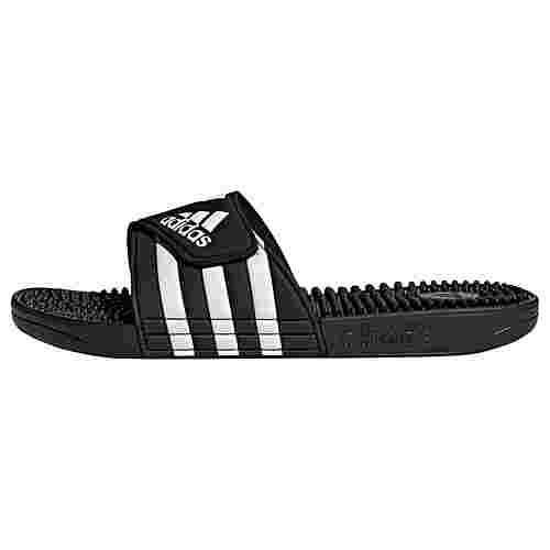 adidas Adissage Badeschlappen Sandalen Core Black / Cloud White / Core Black