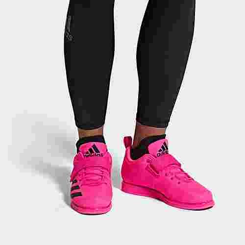 adidas Powerlift 4 Schuh Hallenschuhe Herren Shock Pink / Core Black / Shock Pink
