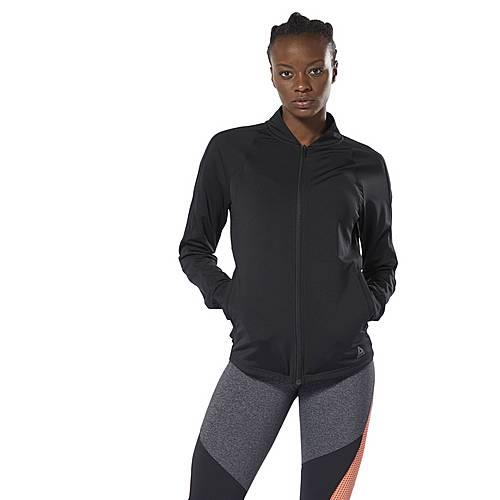 Reebok Steppjacke Damen schwarz im Online Shop von SportScheck kaufen