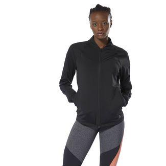 Reebok Track Jacket Trainingsjacke Damen Schwarz